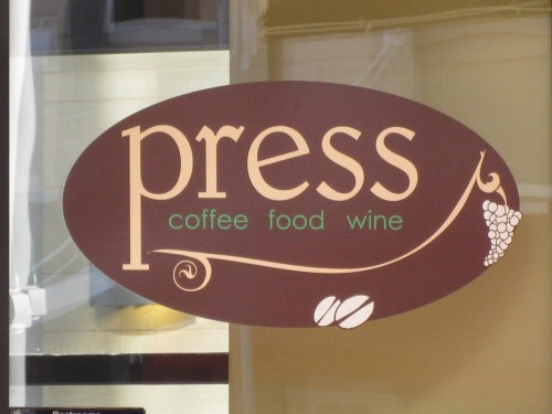 Press CoffeeFoodWine