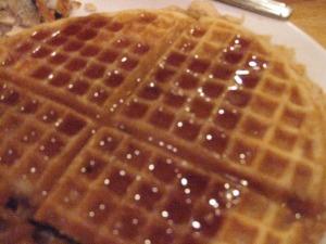 Big waffles