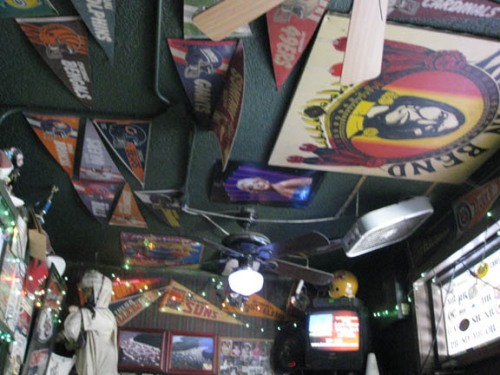 Ceiling of JT's