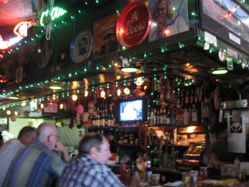 The bar at JT's
