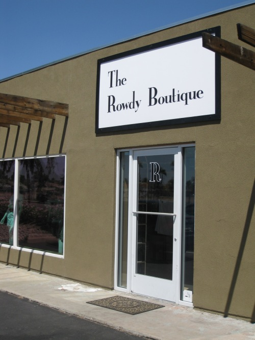 Rowdy Boutique front