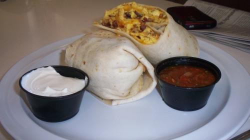 Gringo Breakfast Burrito