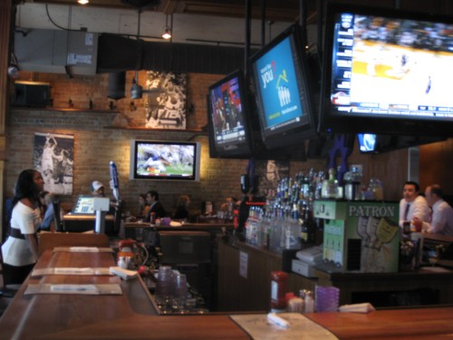 Inside Majerle's Sports Bar