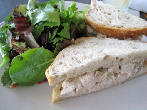 My Florist Cafe Chicken Salad Sandwich