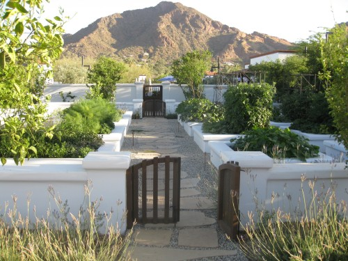 Herb Garden at El Chorro