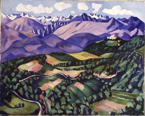 Marsden Hartley, Purple Mountains