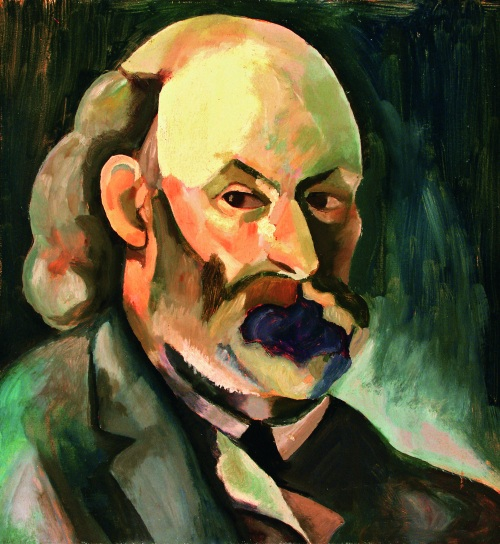 Morgan Russell Portrait of Cezanne